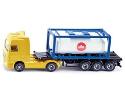 Truck w/tank container 1:87