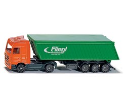 Truck w/trailer and roof 1:87